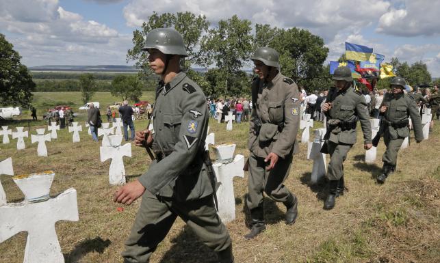 70. rocznica powstania SS-Galizien. Ukraińcy celebrują
