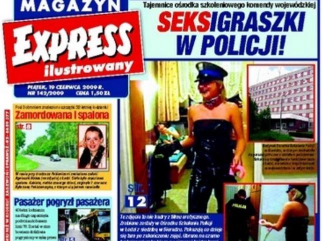 Policjanci zamiast się uczyć, kręcą pornole