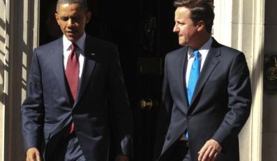 David Cameron dokształca Baracka Obamę