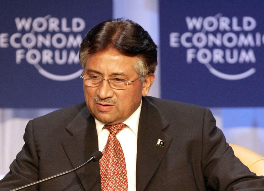 Były prezydent Pakistanu Perwez Muszaraff