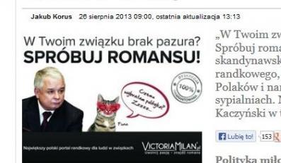 Reklama Victoria Milan