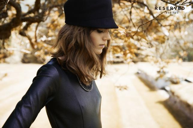 Freja Beha Erichsen w kampanii Reserved jesień/zima 2013/2014