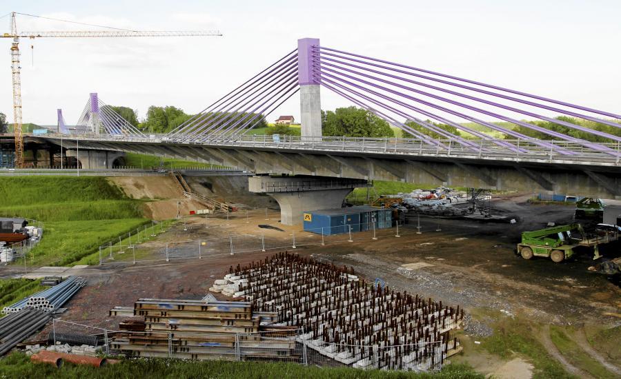 Autostrada A1, most w Mszanie
