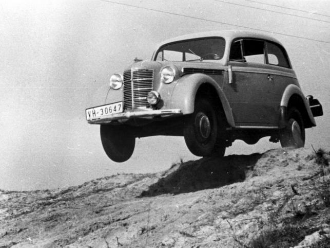 Opel Kadett I był produkowany w latach 1936 – 1938