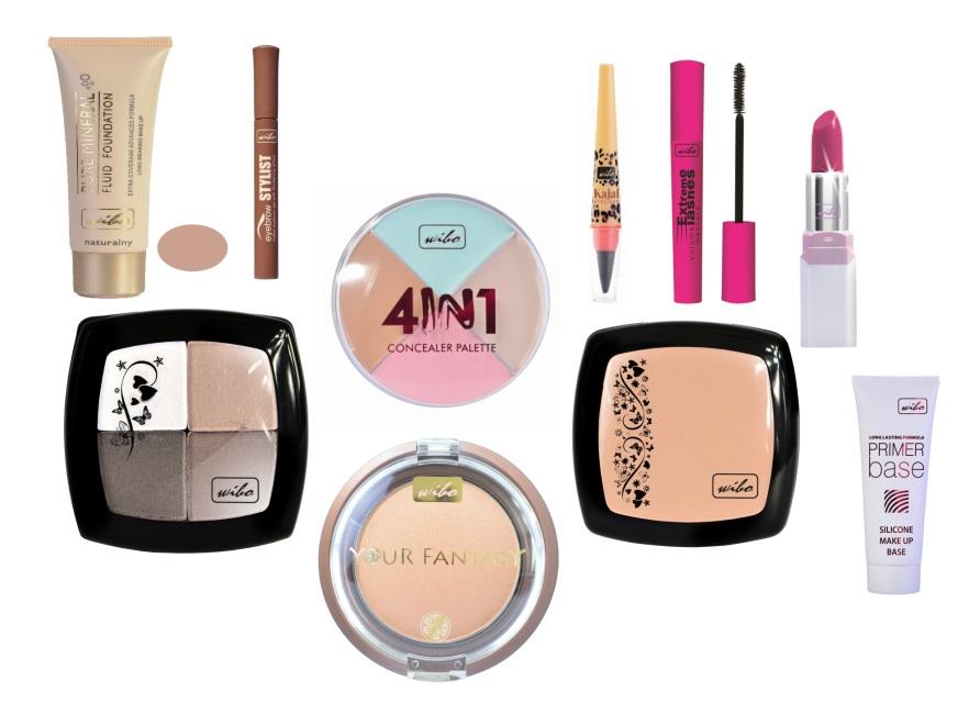 Kosmetyki do makijaż Wibo - kolekcja jesień 2013