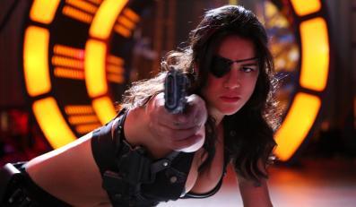 """Michelle Rodriguez w filmie """"Maczeta zabija"""""""