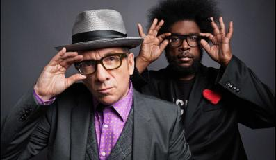 "Costello i Ahmir ""Questlove"" Thompson z The Roots"