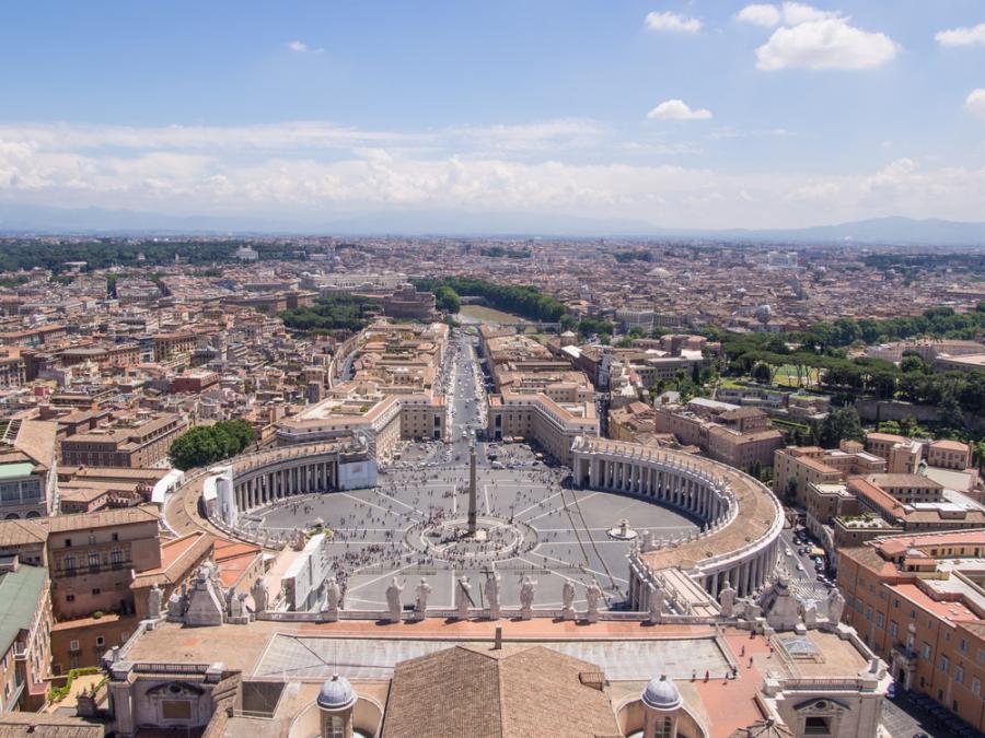 Rzym, Plac świętego Piotra
