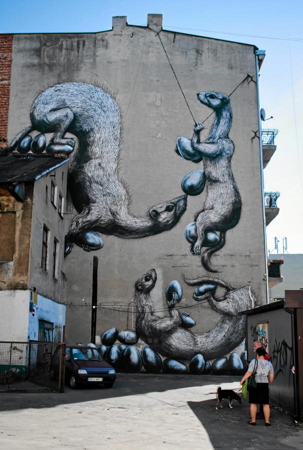 Zdj cia mural zaw aszcza przestrze miejsk strona 4 for Mural na tamie w solinie
