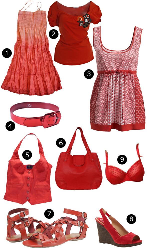 Ubrania i dodatki w stylu flamenco