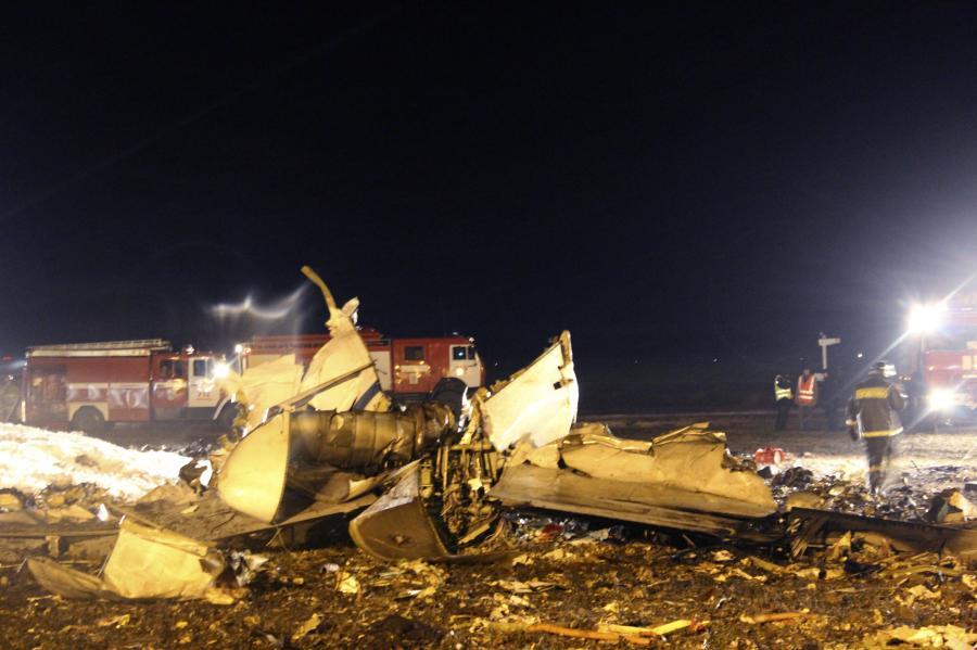 Katastrofa samolotu w Kazaniu