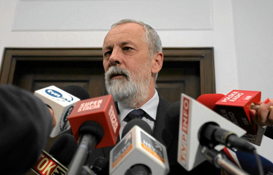 Szef klubu parlamentarnego Rafał Grupiński