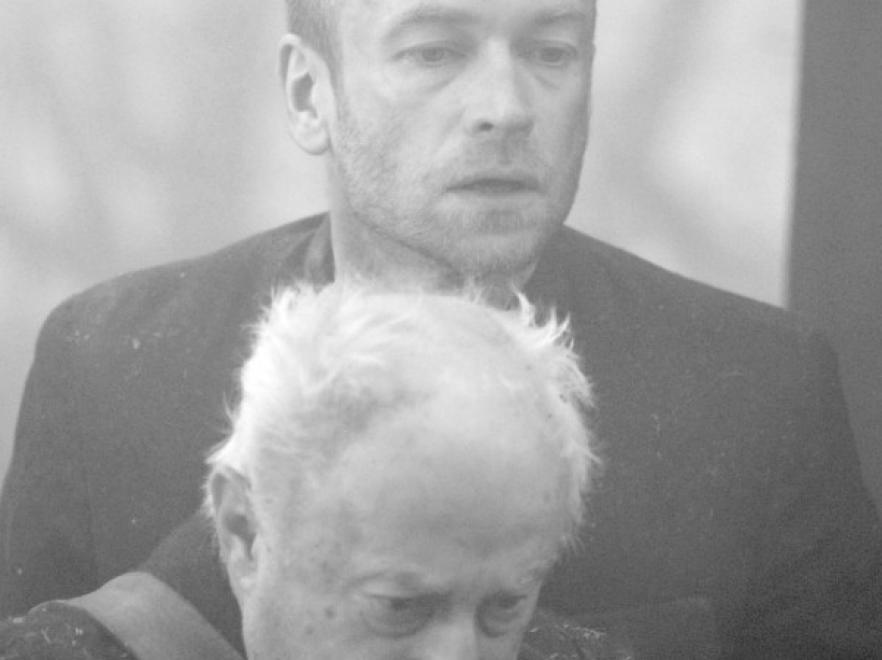 Mariusz Bonaszewski i Stanisław Brudny w filmie \