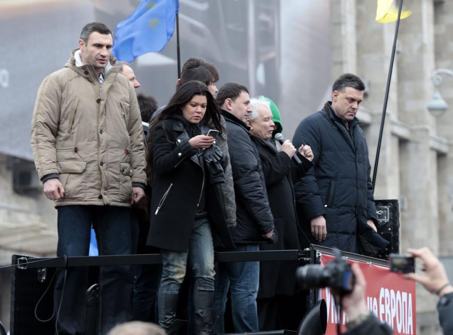 Jarosław Kaczyński na Ukrainie