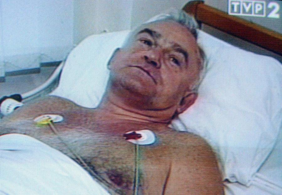 Leszek Miller w szpitalu po katastrofie śmigłowca