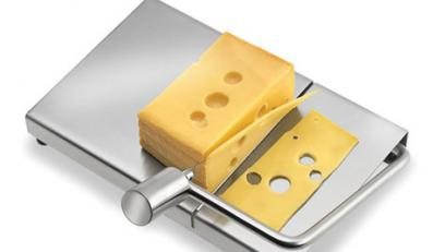 Nawet krojenie sera może być stylowe