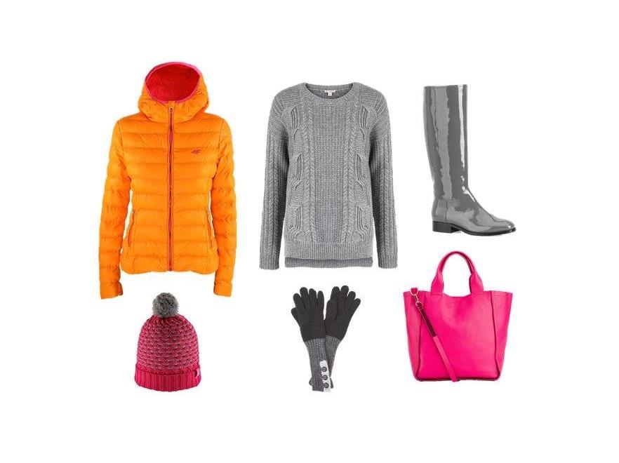 Stylizacje na narty - zima 2014