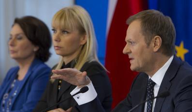 Małgorzata Kidawa-Błońska, Elżbieta Bieńkowska, Donald Tusk