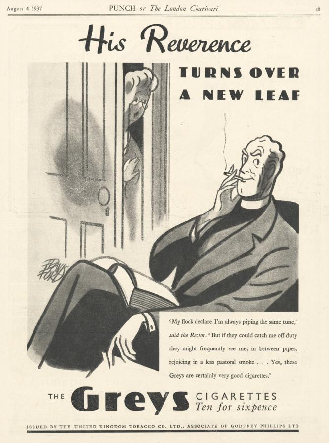 """Papierosy """"Greys, rok 1937"""