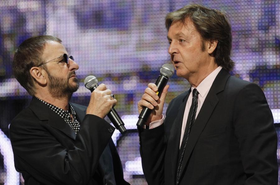 Paul McCartney i Ringo Starr znów razem na scenie
