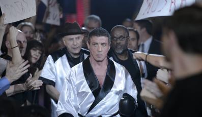 "Sylvester Stallone w filmie ""Legendy ringu"""