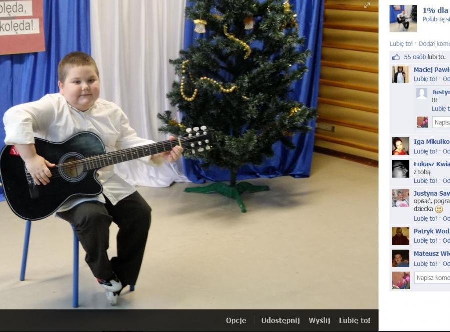 Zdjęcie z oficjalnego profilu na Fb Łukasza Berezaka