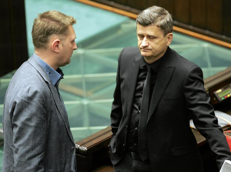 Andrzej Rozenek i Janusz Palikot