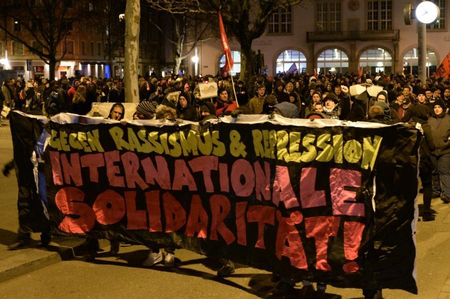Szwajcarzy protestują po ogłoszeniu wyników referendum imigracyjnego
