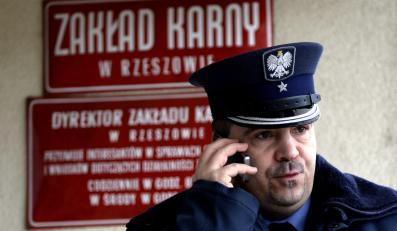 Rzecznik rzeszowskiego wizienia major Norbert Gaweł