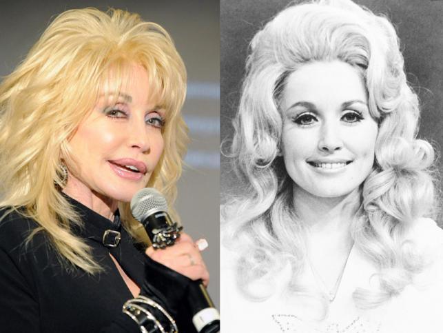 Dolly Parton –dziś i na początku kariery
