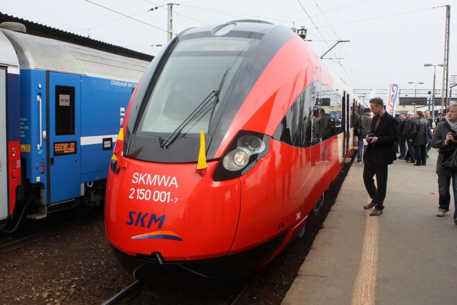 Pociąg SKM w Warszawie