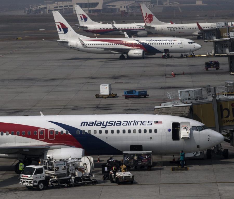 Samoloty malezyjskich linii lotniczych