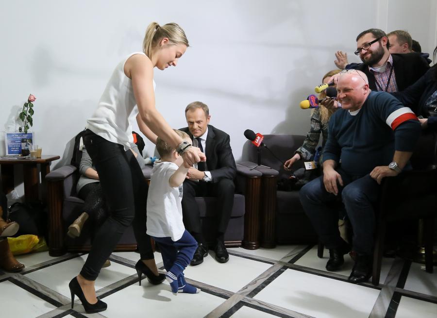 Spotkanie premiera z rodzicami niepełnosprawnych dzieci