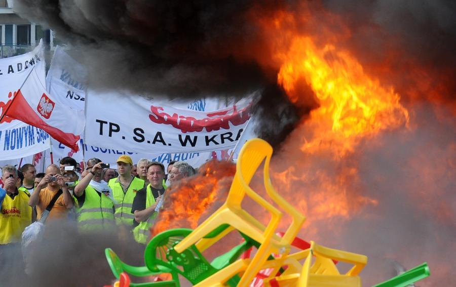 Protest Solidarności