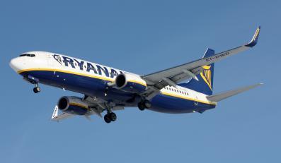 Samolot linii Ryanair