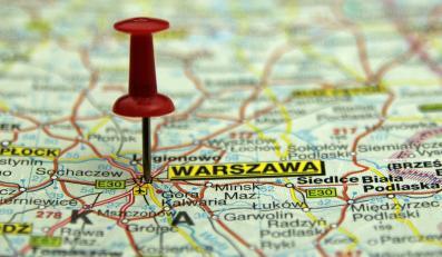 Warszawa mapa