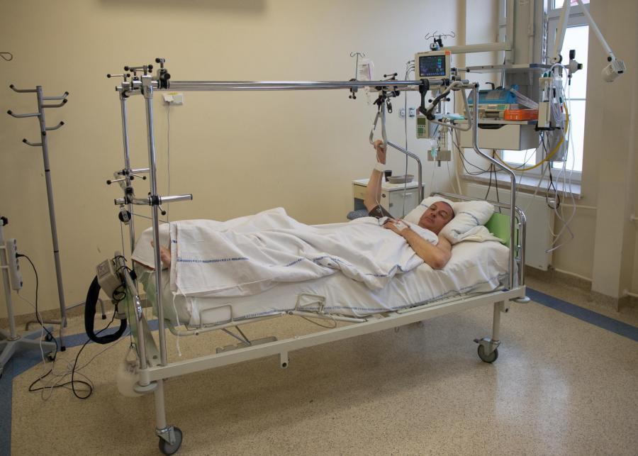 Prezydent Wrocławia Rafał Dutkiewicz w szpitalu po wypadku