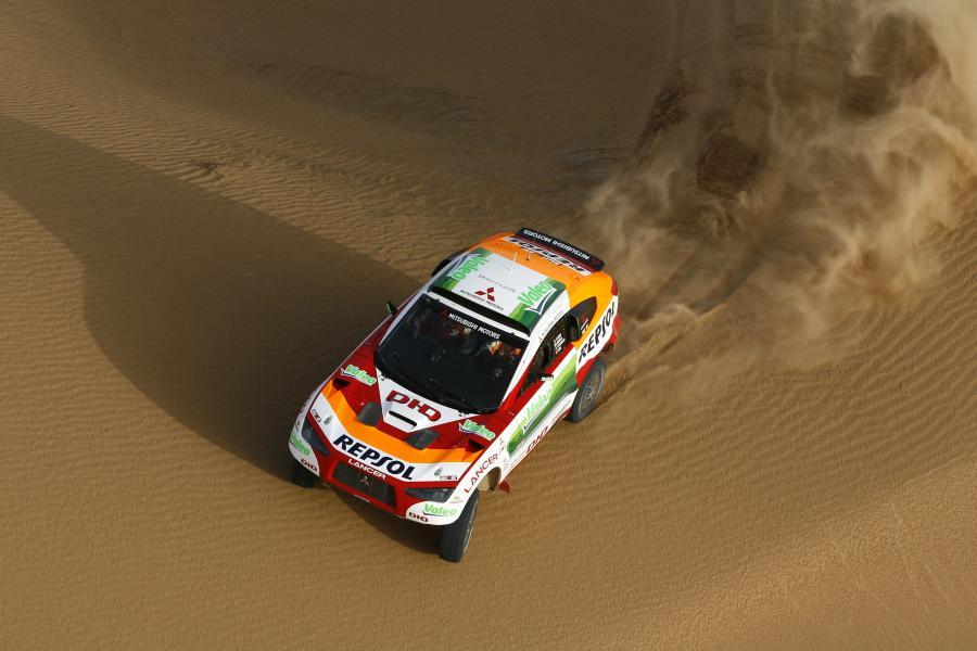 Rajd Dakar 2009 - jeźdźcy pustyni w akcji!
