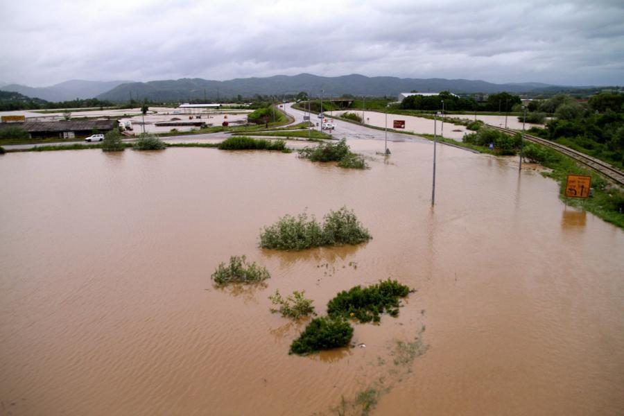Powódz w Serbii