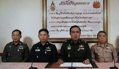 Przewrót wojskowy w Tajlandii