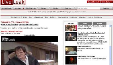 Quentin Tarantino oszczędził paparazzi