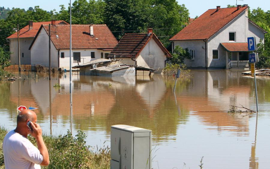 Powódź w Serbii