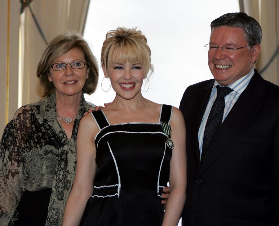 Kylie Minogue z rodzicami – Carol i Ronem