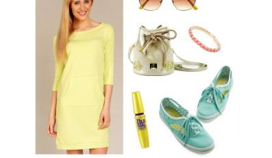 Kolorowe sukienki na lato 2014