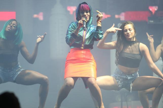 Lily Allen na Orange Warsaw Festival 2014