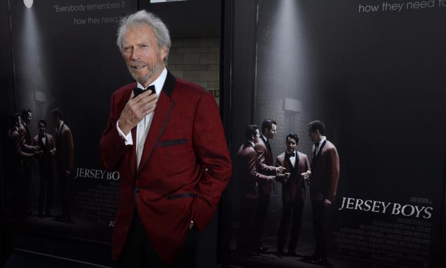 "Clint Eastwood na premierze ""Jersey Boys"" na Los Angeles Film Festival"