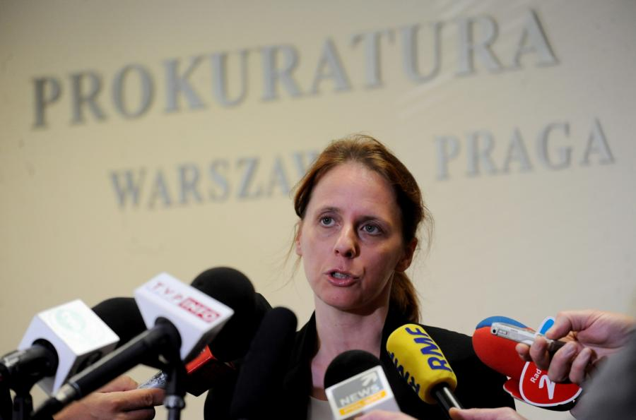 Renata Mazur z Prokuratury Okręgowej Warszawa-Praga