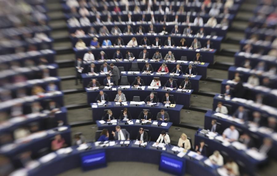 Sala europarlamentu