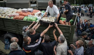 Pomoc humanitarna w Słowiańsku