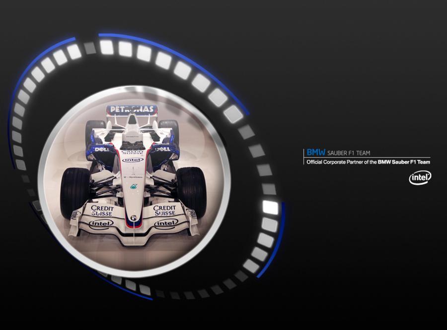 Wyścig Formuły 1 na 12 monitorów